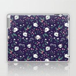 Skull Floral Laptop & iPad Skin