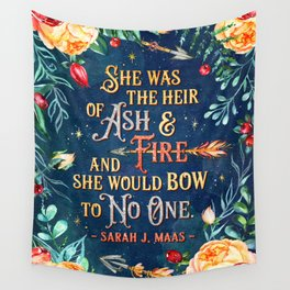 Ash & Fire Wall Tapestry