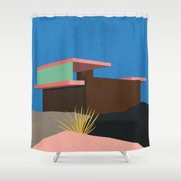 Kaufmann Desert House Palm Springs Shower Curtain
