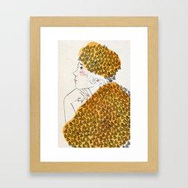 Oh Honey! Framed Art Print