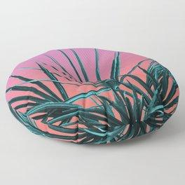Pink Palm Life - Miami Vaporwave Floor Pillow