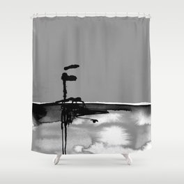 Introspection No. 20Q by Kathy Morton Stanion Shower Curtain