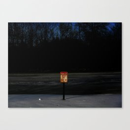 The Ice Be Thin Canvas Print