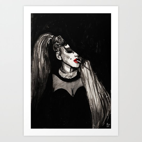 Government Hooker Art Print