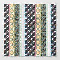boho Canvas Prints featuring Boho by Designed by Debby