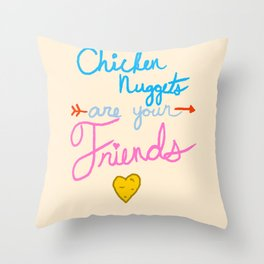McFriendship Throw Pillow
