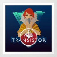 transistor Art Prints featuring TRANSISTOR by Duke