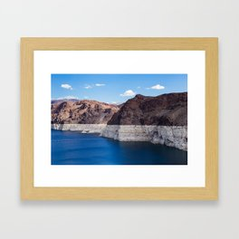 Hoover Dam II / Lake Mead Framed Art Print