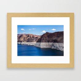 Hoover Dam II / Lake Mead Framed Art Print