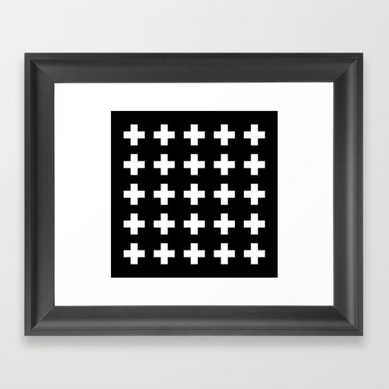 Swiss Cross Black by newwave