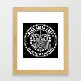 Mind Units Corp - XM Emergency Response Framed Art Print