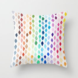 A Sky of Diamonds Throw Pillow