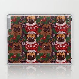 Christmas Party With The Pug Laptop & iPad Skin