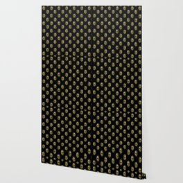 Venetian Mask Motif Pattern Wallpaper