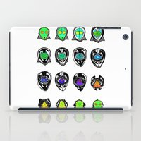 third eye iPad Cases featuring Third Eye by Yuriy Miron