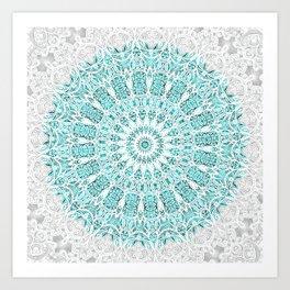 A Glittering Mandala Kunstdrucke