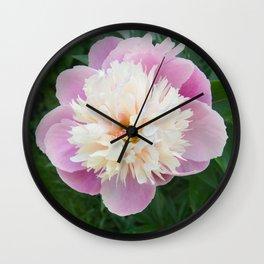 Pfingstrose Wall Clock