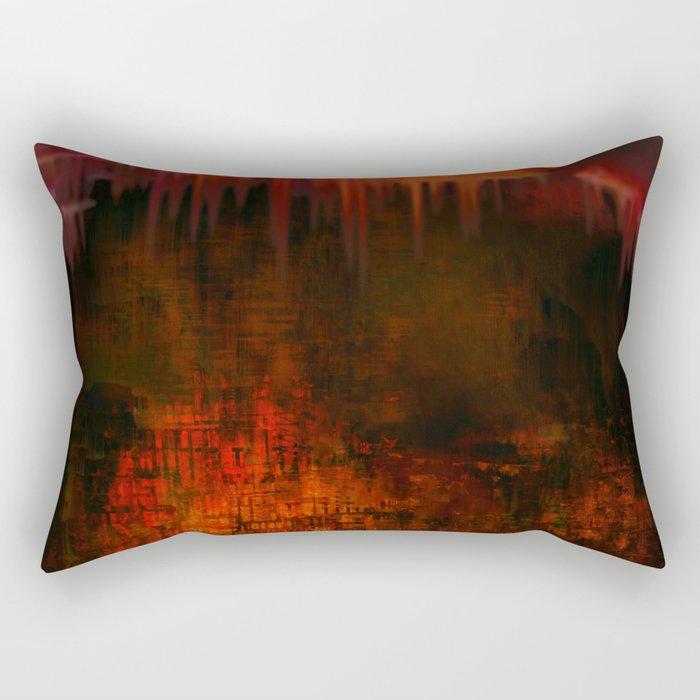 Cave 02 / Golden Fantasy in Palace / wonderful world 07-11-16 Rectangular Pillow
