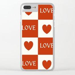 Love & Hearts #buyart #society6 Clear iPhone Case