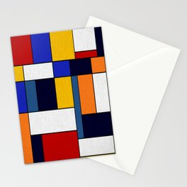 Abstract #351 Stationery Cards