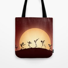 Dixieland Skeletons Tote Bag