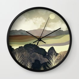 Retro Afternoon Wall Clock