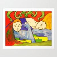 Embraceable You Art Print