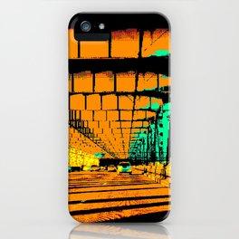Bay Bridge Evening Pixelart iPhone Case