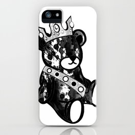 Bear King Splash iPhone Case