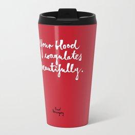 Blood-red Travel Mug
