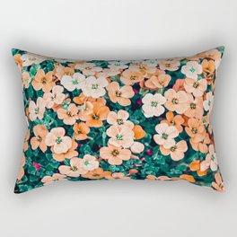 Floral Bliss #photography #nature Rectangular Pillow