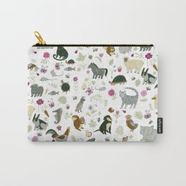 Animal Chart Carry-All Pouch
