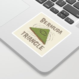 Bermuda Triangle Sticker