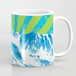 Mt. Alyeska Ski Rise by Crow Creek Coolture Coffee Mug
