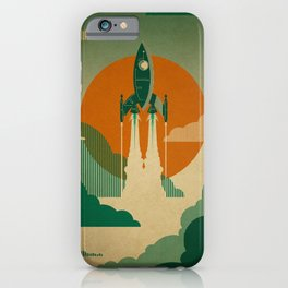 The Voyage (Green) iPhone Case