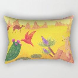 In The Desert Rectangular Pillow