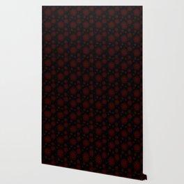 Anti Possession Pattern Red Glow Wallpaper