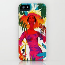 Vintage Caribbean Travel - Cuba iPhone Case