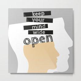 OpenMind Metal Print