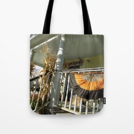 Country Harvest Porch Tote Bag