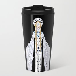 "Art Deco Design ""Byzantine"" by Erté Travel Mug"