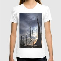 sailing T-shirts featuring sailing by gzm_guvenc