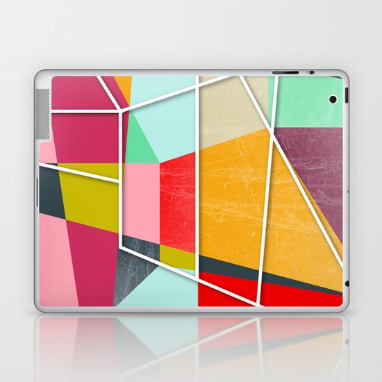 ColorBlock V Laptop & iPad Skin
