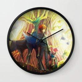 Pokémon X: Xerneas Wall Clock