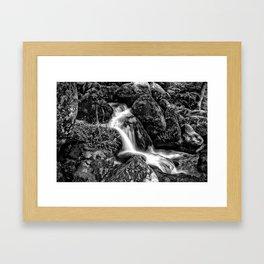 Becky Falls Framed Art Print