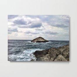 Small Island Metal Print