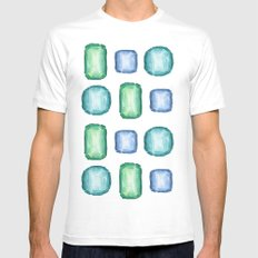 Adornment White Mens Fitted Tee MEDIUM