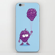 Grapes With Balloons iPhone & iPod Skin