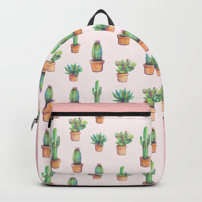 my old caactus are back Backpack