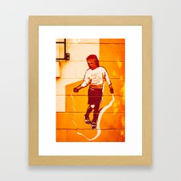 School of Hard Knocks Framed Art Print